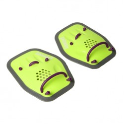 BOOST SWIMMING PADDLES JAKED, verde fluo
