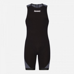 Jaked Booster Triathlon Unisex Swimsuit - negru/gri
