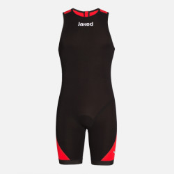 Jaked Booster Triathlon Unisex Swimsuit - negru/rosu